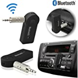 Motopanda Car Wireless Bluetooth Connector Kit Player Adapter with 3.5mm Jack Aux Cable