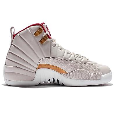 Air Jordan 12 Retro CNY GG Kids Basketball Shoes, Size 4.5Y