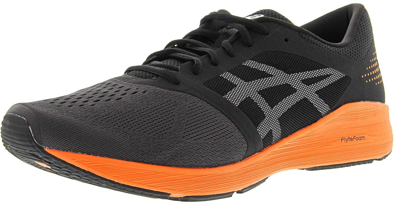 ASICS Roadhawk FF Running Shoe - Men's Black/Hot