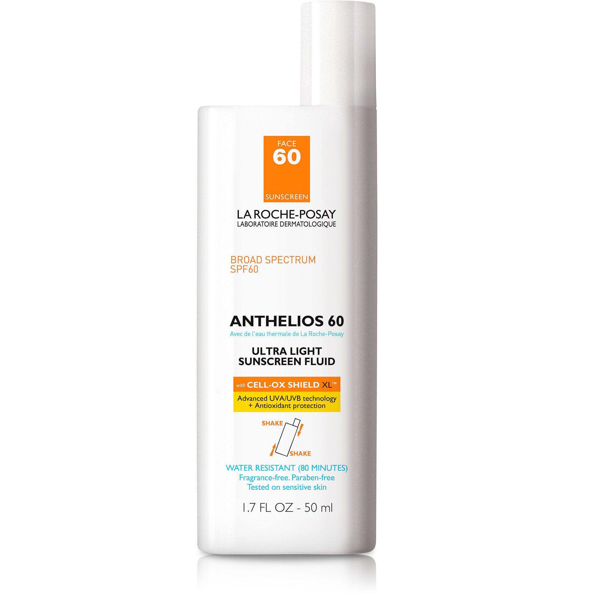 La Roche-Posay Anthelios Face Sunscreen SPF 60, 1.7 Fl. Oz.