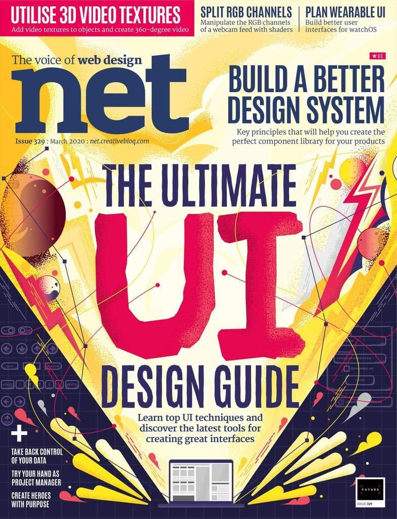 Amazon Com Net Magazine The Voice Of Web Design Future