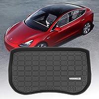 Xipoo Fit Tesla Model 3 Trunk Mat Storage Mat TPE Cargo Liner Cargo Tray Storage Mat for Tesla Model 3 Accessories (2017…