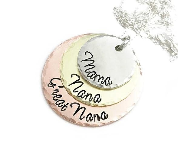 amazon com mom grandma great grandma necklace perfect gift