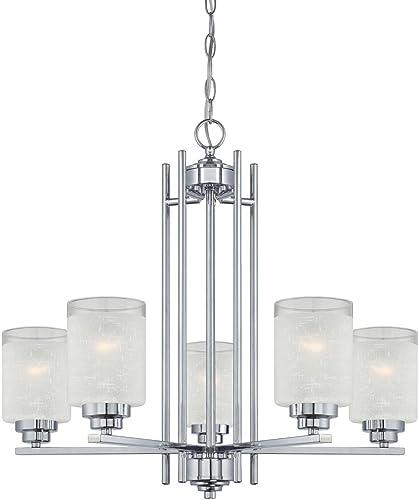 Westinghouse Lighting 63441A Hansen 5 Light Indoor Chandelier