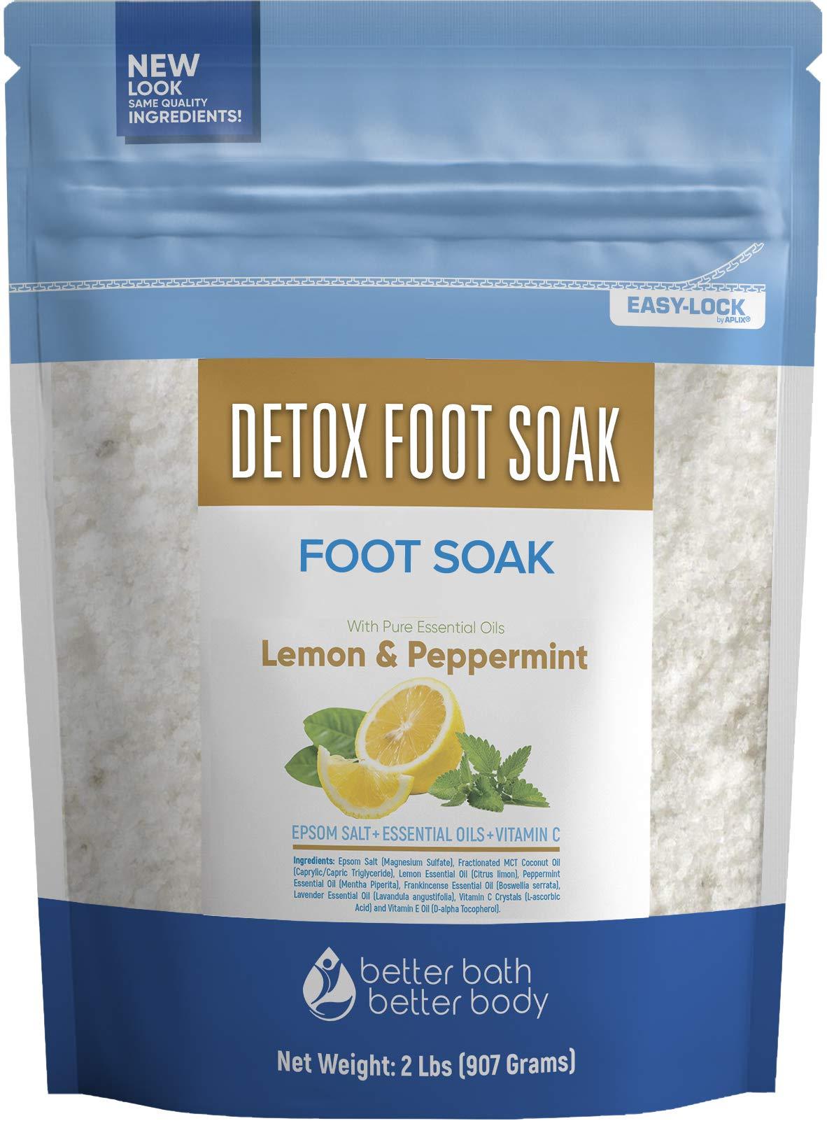 Detox Foot Soak 32 Ounces Epsom Salt