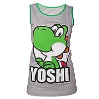 Nintendo Yoshi Tank Top (Damen) -XL- Grau