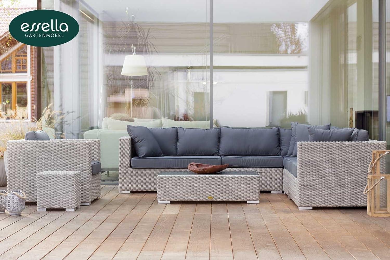 polyrattan lounge miami 8 personen rundgeflecht. Black Bedroom Furniture Sets. Home Design Ideas