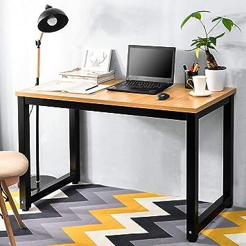 Merax – Mesa de Ordenador Mesa Escritorio Oficina Mesa de Trabajo ...