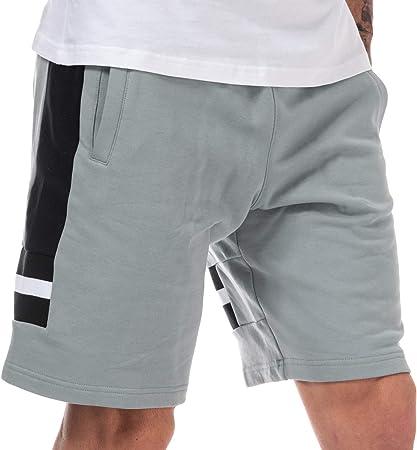 Puma XTG - Pantalón corto para hombre, color gris y negro