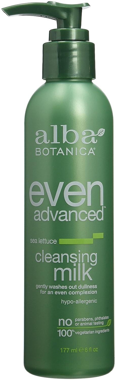 Alba Advanced Sea Lettuce Cleansing Milk - 6 fl. oz. by Alba Botanica (pack of 12) Bodyceuticals - Tone & Brighten Facial Creme Vitamin C Ester + Calendula - 2 oz.