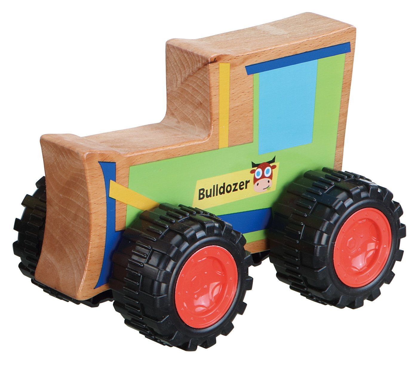 PBS Everearth Push Toy Bulldozer 1 Each