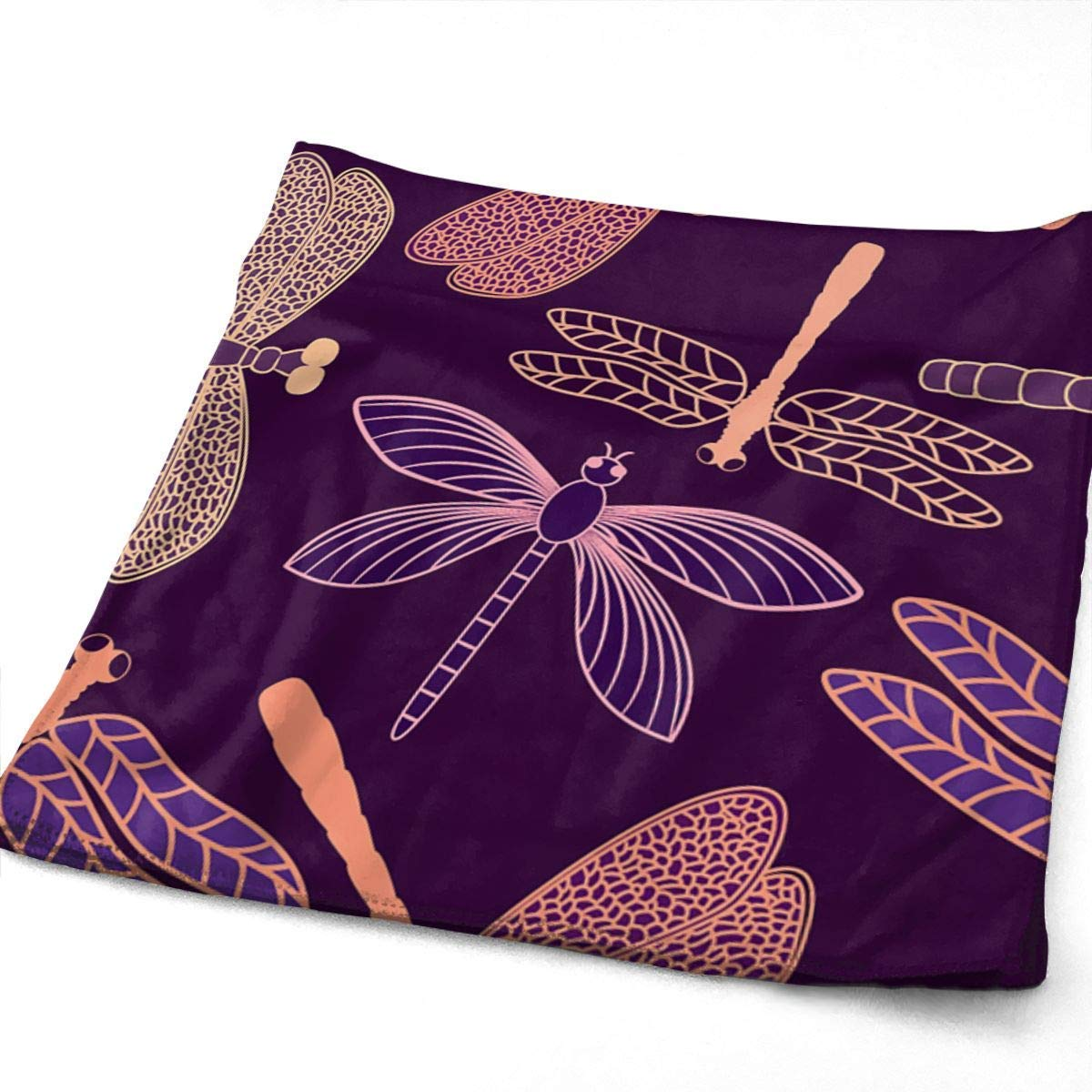 WTZYXS Dragonfly Pattern Face Hand Towels Sweat Absorbend ...
