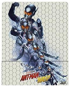 Ant-Man And The Wasp (3D) (Blu-Ray 3D+Blu-Ray) (Ltd Steelbook) [Italia] [Blu-ray]