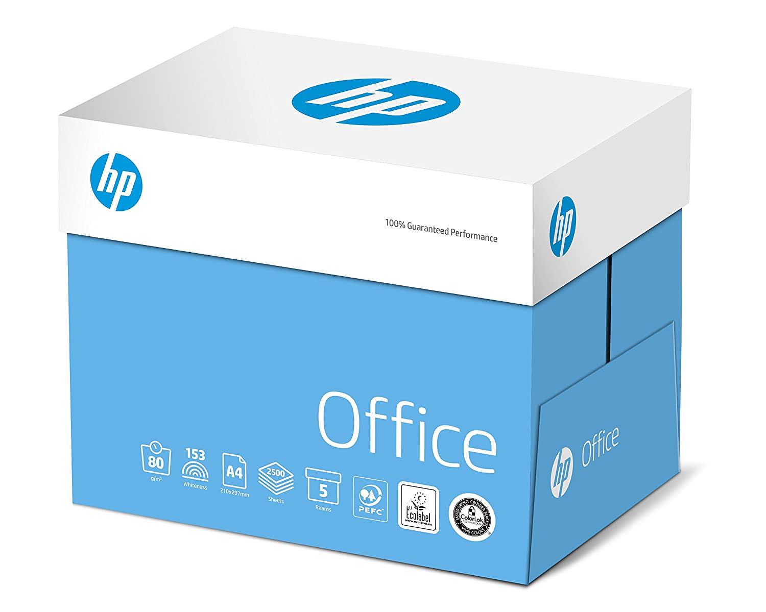 1 Box Contains Five Reams of 500 Sheets 2x80 GSM A4 White Office Copier Paper