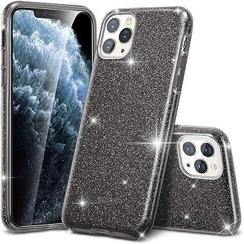 ESR Coque pour iPhone 11 Pro Max Noir, Coque Silicone Paillette ...