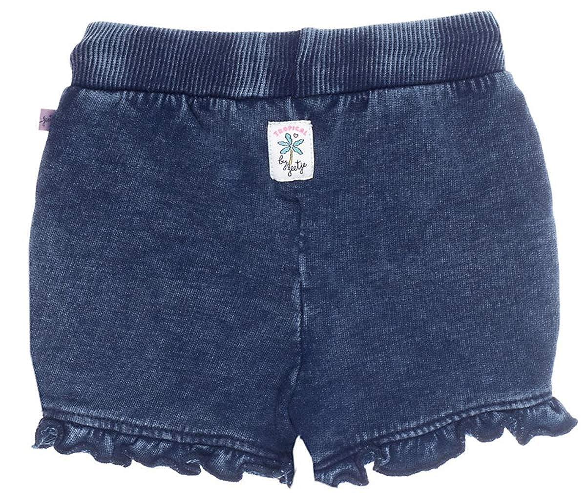 Feetje Sweatshorts in Denim Blue mit Waschung /& ger/üschtem Abschlu/ß Tropical 0158