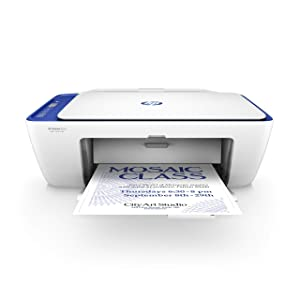 HP DeskJet 2622 All-in-One Compact Printer (Blue) (V1N07A) (Renewed)