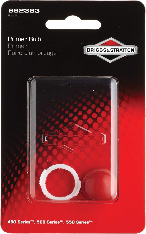 Briggs & Stratton 992363 Serie 450/500/550, bulbo cebador, Rojo