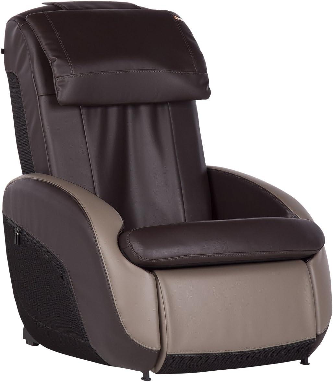 Human Touch iJOY 2.1 Reclining Massage Chair 3 Programmed Massage Modes Bone//Gray
