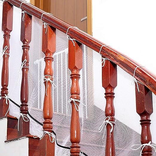 MLMHLMR Protección de los niños Aislamiento de la Red de Mascotas Escaleras de balcón Protección de la Red Red contra caídas 78 cm/Longitud 2M Red de protección Infantil (Size : 200cm): Amazon.es:
