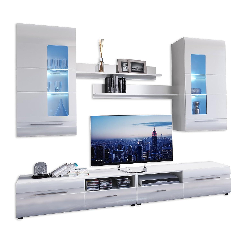 amazon.de: wohnwände - wohnzimmer: küche, haushalt & wohnen