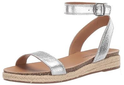 f58e005eef7 Amazon.com  Lucky Brand Women s Garston Espadrille Wedge Sandal  Shoes