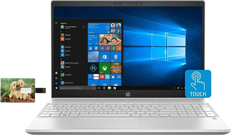 2021 HP Pavilion 15 Laptop Computer, 10th Gen Intel Quad Core i5-1035G1, 15.6
