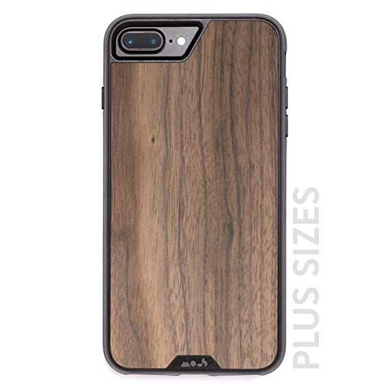 online store a83a9 6d047 Mous Protective iPhone Plus 8+/7+/6s+/6+ Plus Case - Real Walnut Wood