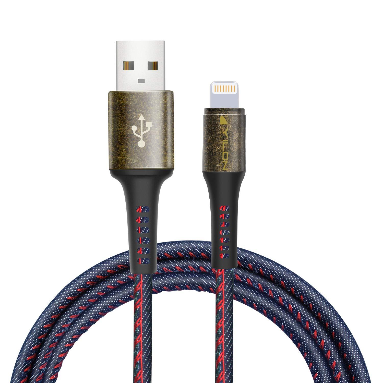 YILON Cable Lightning Cable Cargador iPhone-[Apple MFi Certificado]-Garantía de por Vida-Compatible con iPhone XS MAX XR X 8 Plus 7 Plus 6S 6 Plus 5 ...