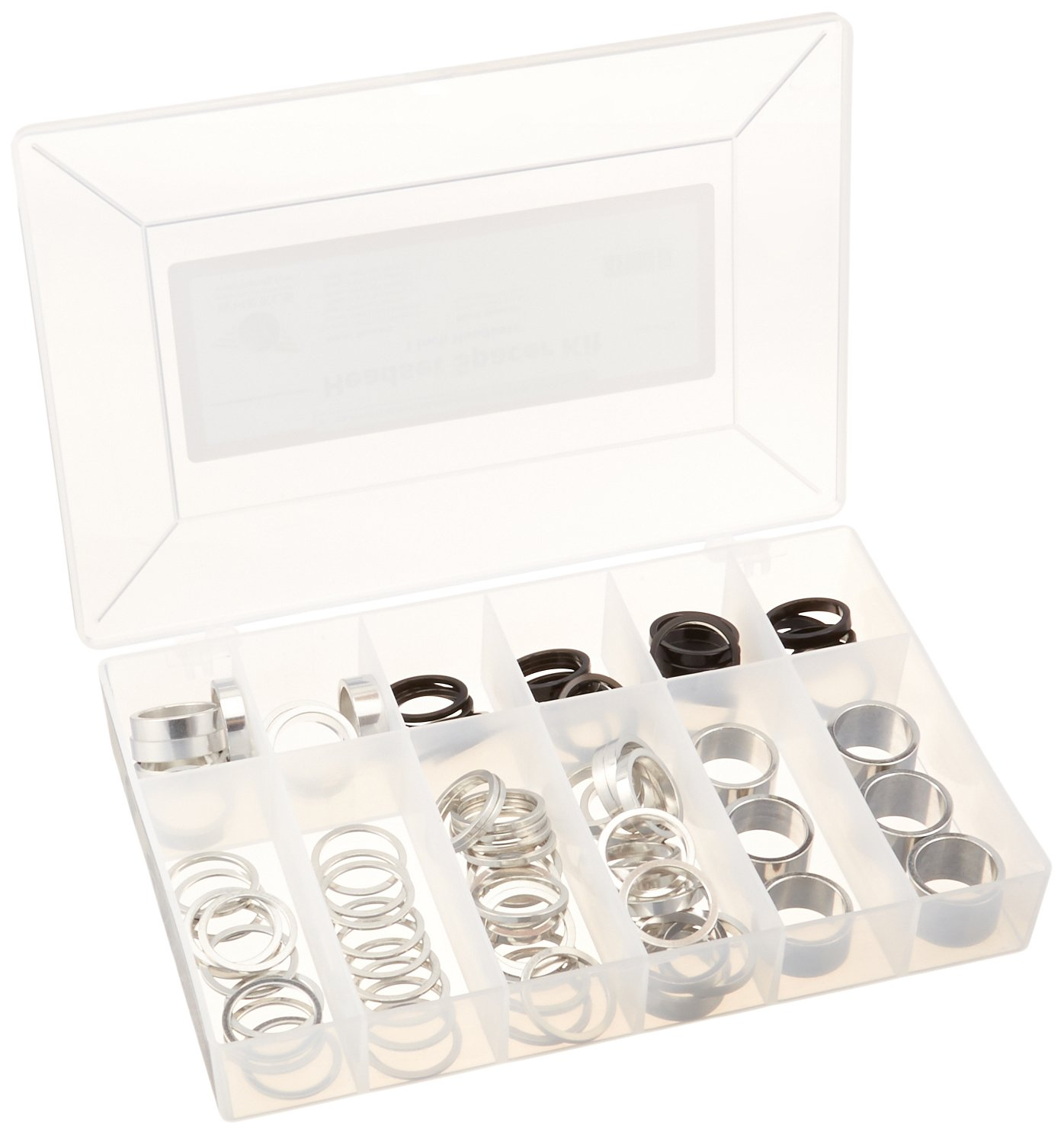 Wheels Manufacturing Assorted 1-Inch Spacer Kit (114-Piece)