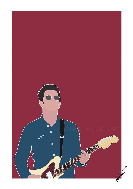 Noel Gallagher INSPIRED Print//Poster