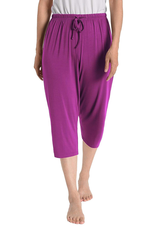 Boysenberry Latuza Women's Knit Capris Sleepwear