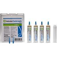 Syngenta 383920 Advion Cockroach Gel Bait 4 X 30 Gram Tubes Roach Control, 4 30, Brown