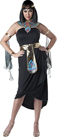 InCharacter Costumes Womenu0027s Plus-Size Cleopatra Costume Black/Gold XX-Large  sc 1 st  Amazon.com & Amazon.com: InCharacter Costumes Womenu0027s Plus-Size Cleopatra: Clothing