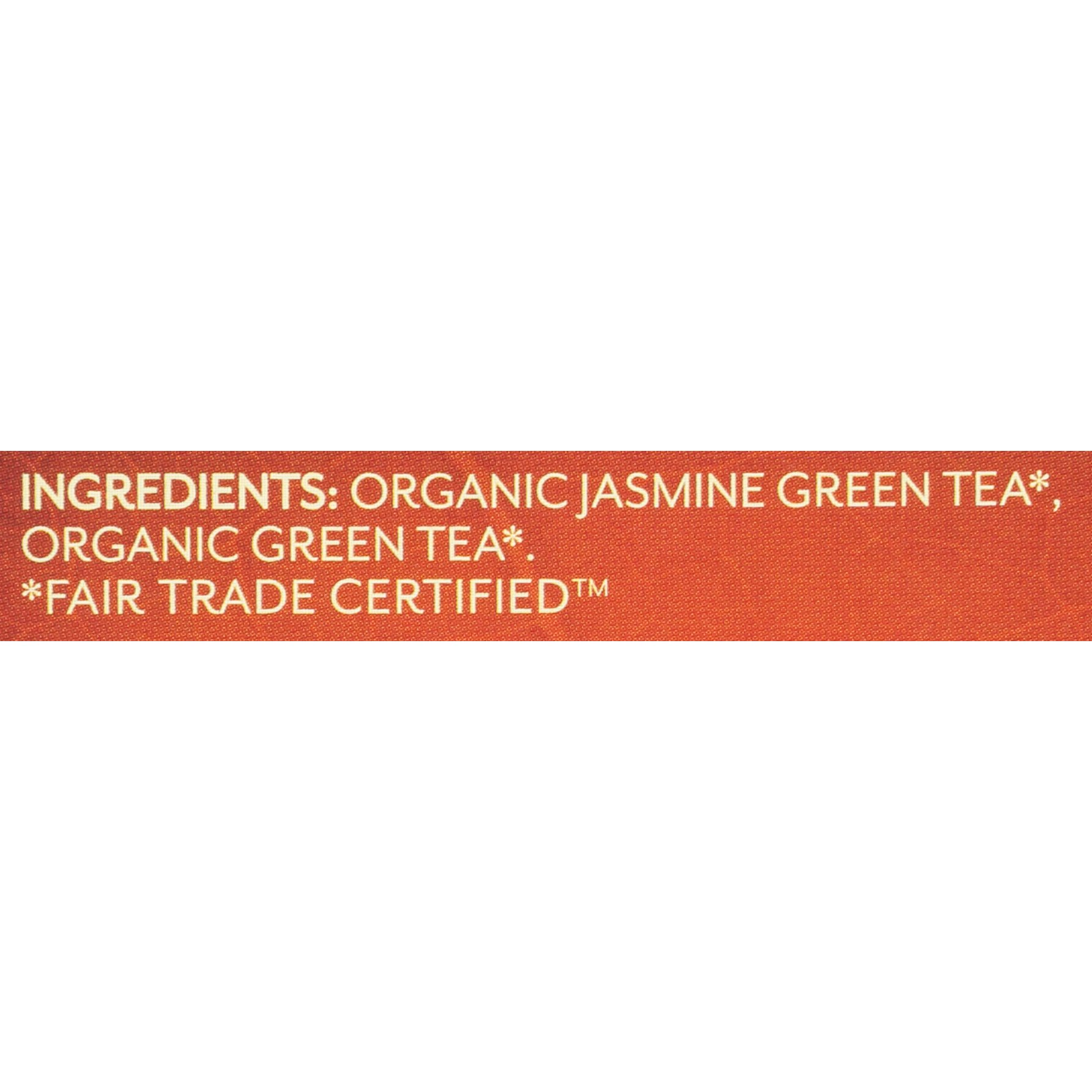 Twinings of London Organic and Fair Trade Certified Jasmine Green Tea Bags, 20 Count (Pack of 6)