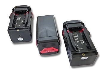 vhbw 3x Batería Li-Ion 3000mAh (36V) para herramientas Hilti ...