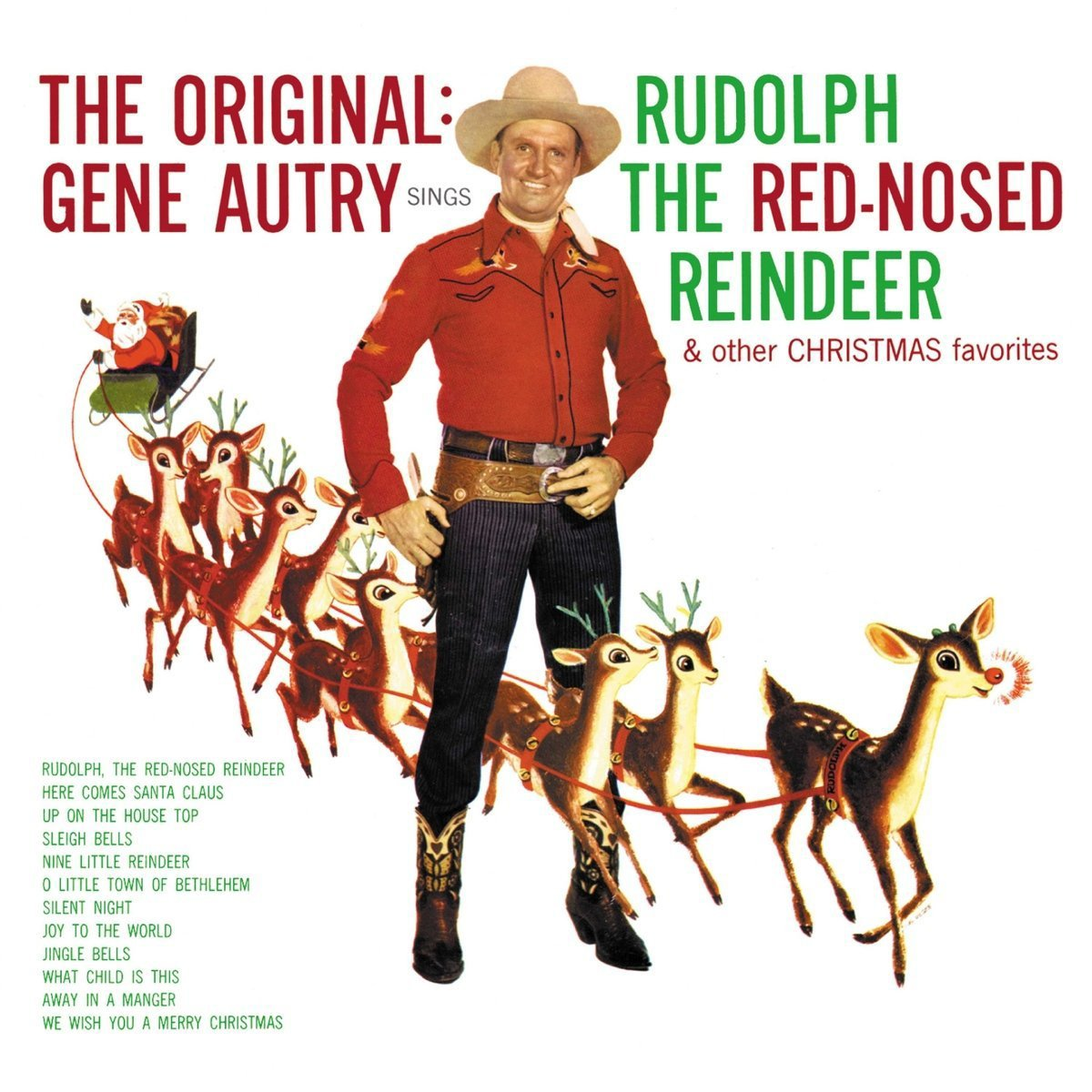 CD : Gene Autry - Rudolph The Red-nosed Reindeer (Remastered, Restored)