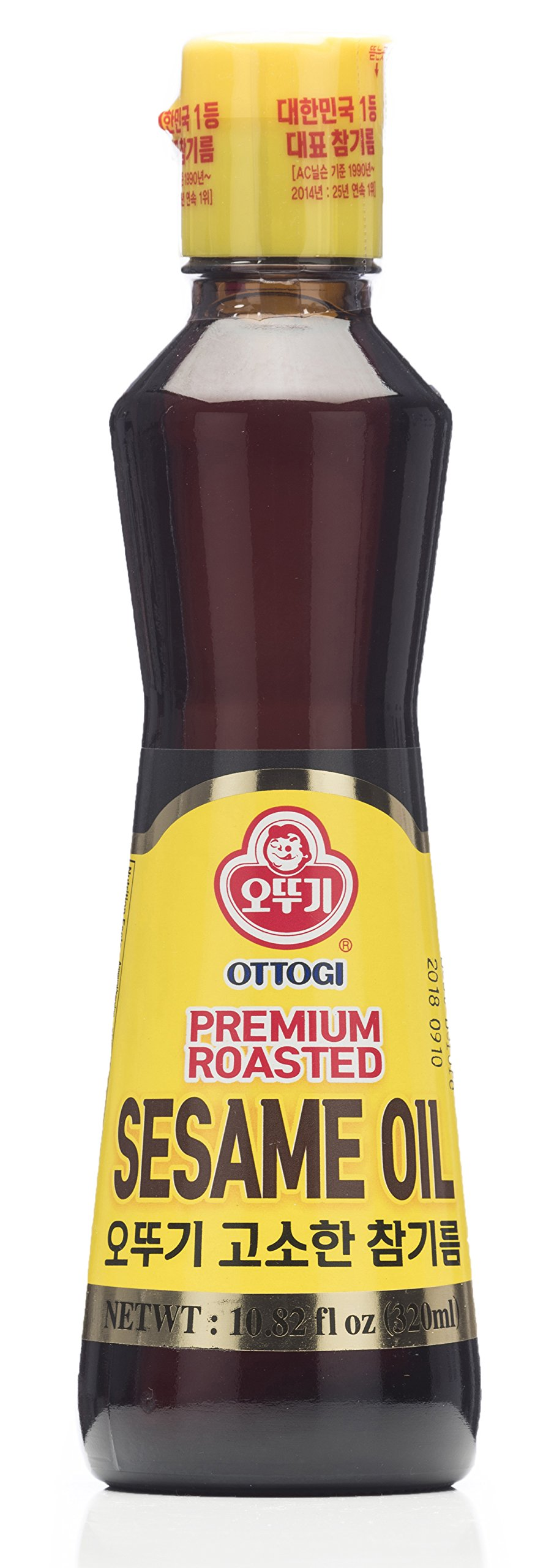 Ottogi Premium Roasted Sesame Oil, 10.82 Ounces