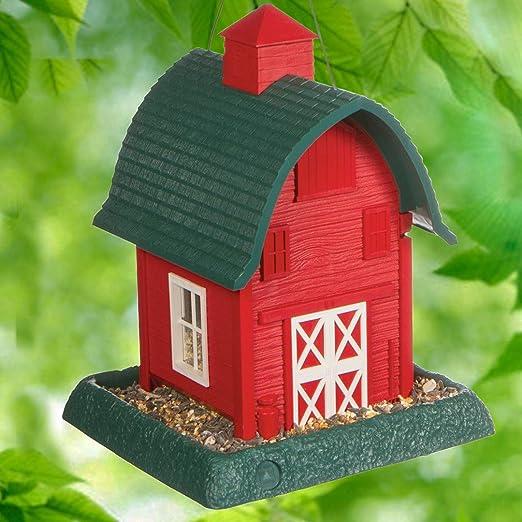 Village Collection bebedero para aves en forma de casa.: Amazon.es ...