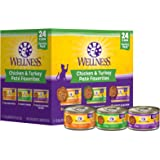 Wellness Seafood Pate Favorites Wet Cat Food Variety Pack
