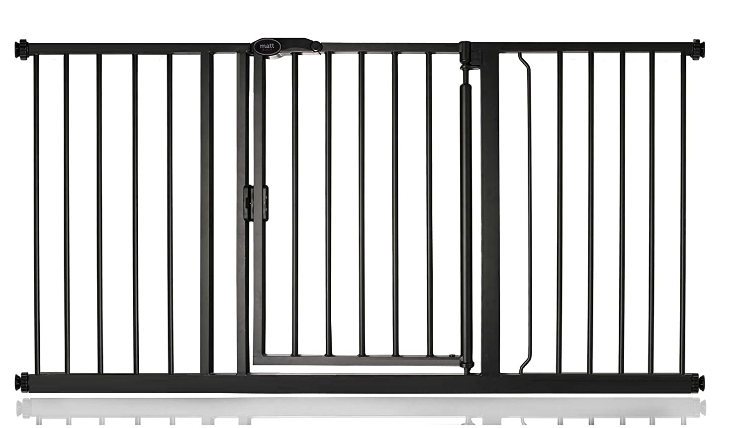 147cm-154cm Bettacare Auto Close Matt Black Pet Gate Range (147cm-154cm)