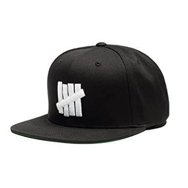 1accbebec7f Image Unavailable. Image not available for. Color  Undefeated 5 Strike Snapback  Hat In Black ...