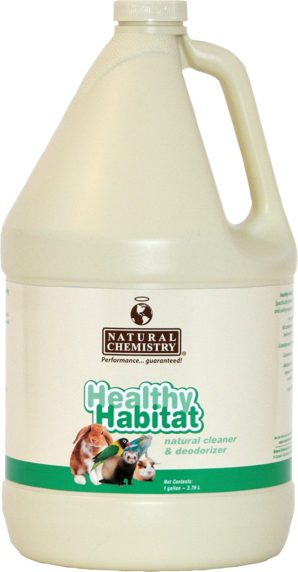 Natural Chemistry Healthy Habitat Pet Habitat Cleaner and Deodorizer, 1-Gallon by Natural Chemistry