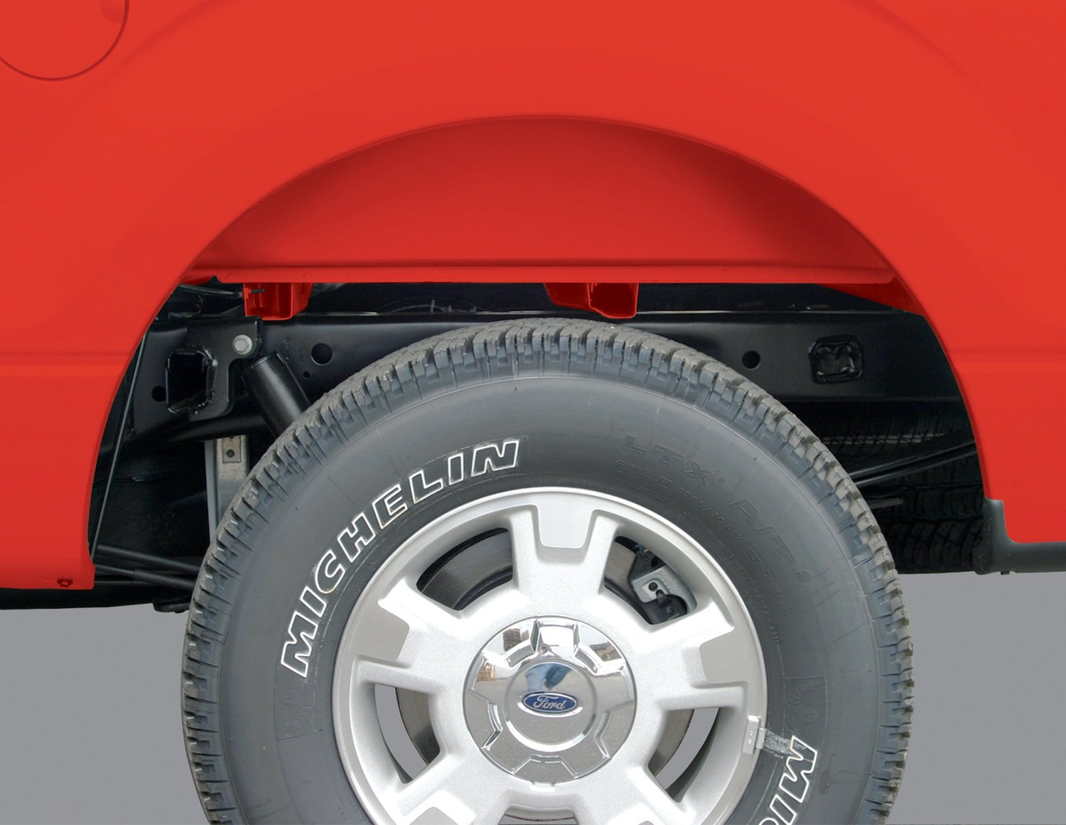Rugged Liner WWF25005 Wheel Well Liners for Ford F-250/F-350 Super Duty Pickup Truck