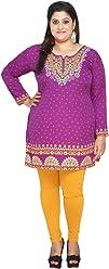 Plus Size (Upto 9XL) Women Indian Pakistani Kurti Tunic Kurta Top Shirt Dress EPlus112D