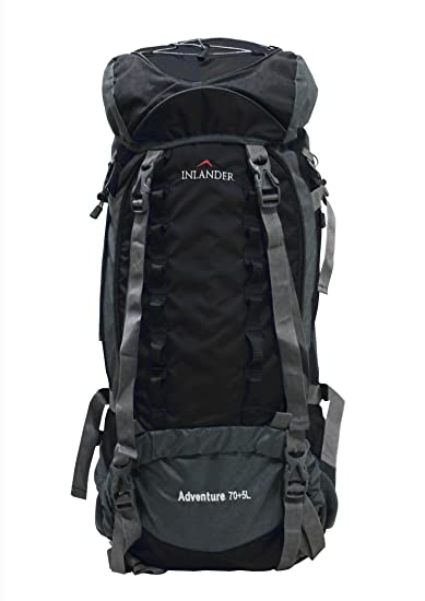 INLANDER 70 5L Black Travel Bag Backpacking Backpack for Outdoor ...