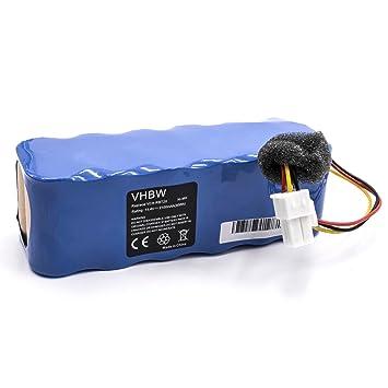 vhbw Ni-MH batería 2100mAh (14.4V) para aspiradora Samsung Navibot SR8840, Navibot SR8845, Navibot SR8855, Navibot SR8895 por VCA-RBT20.