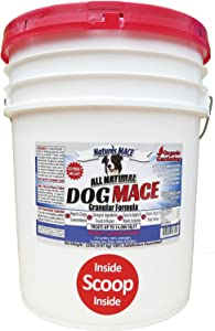 Nature's MACE Dog Repellent 22LB / Treats 14,000 Sq. Ft. / Keep Dogs Out of Your Lawn and Garden / Train Your Dogs to Stay Out of Bushes / Safe to use Around Children & Plants