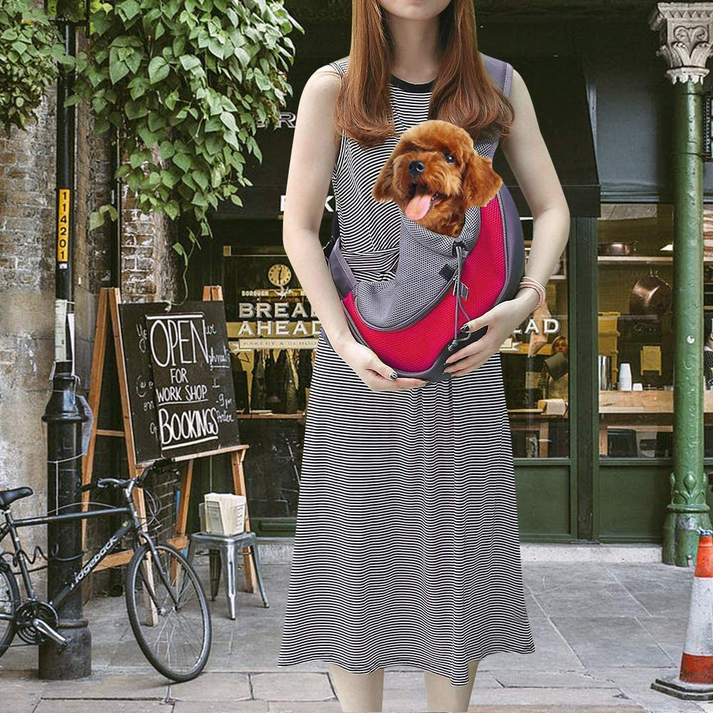 Zwini - Bolsa de Transporte para Mascotas con Bolsa de Malla ...
