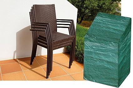 Funda W1252 Garland de protección para sillas apilables (calidad de bronce)
